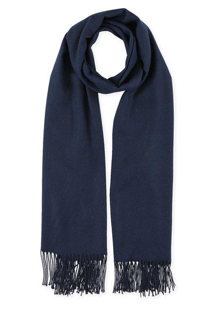 Navy lichte sjaal