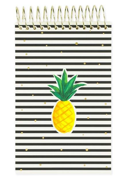 "Notitieboekje ""ananas"""