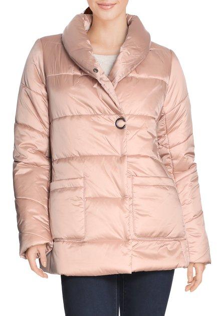 Oudroze gematelasseerde jas