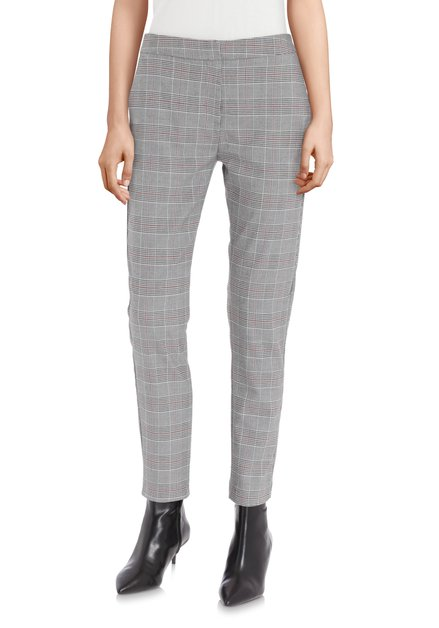 Pantalon à carreaux gris - slim fit