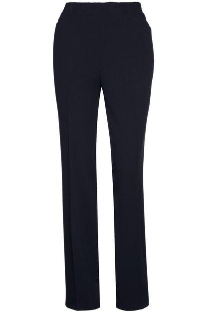 Pantalon à taille élastique noir