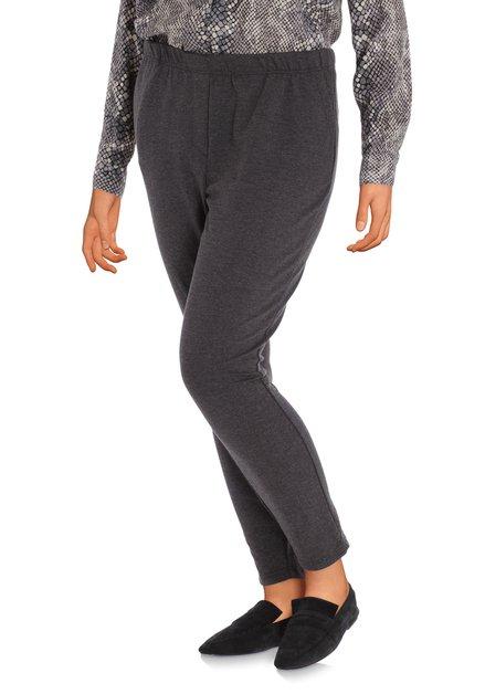 Pantalon anthracite avec imprimé - slim fit