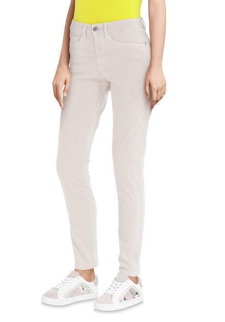 Pantalon beige – slim fit