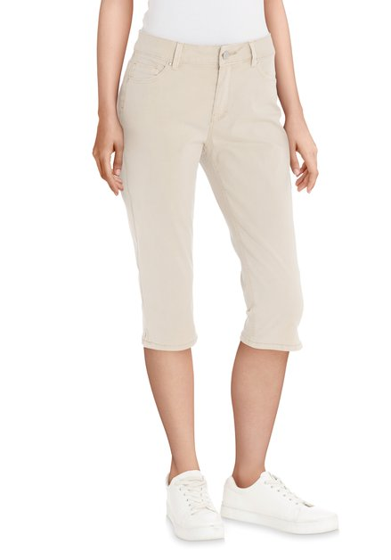 Pantalon beige longueur genoux
