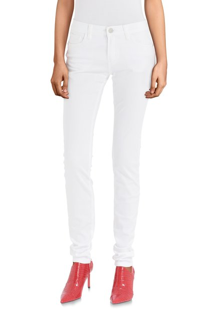 Pantalon blanc – slim fit