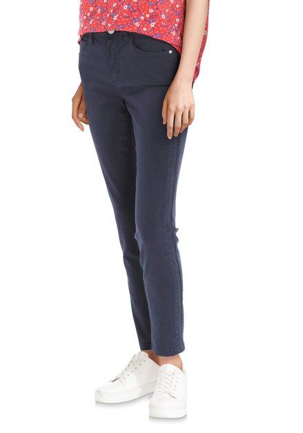 Pantalon bleu foncé– slim fit