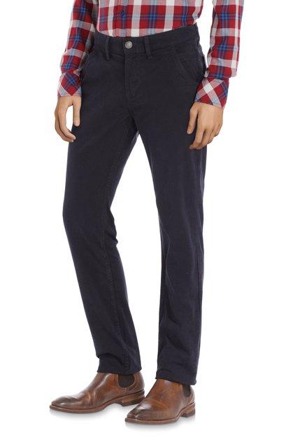 Pantalon bleu foncé – slim fit