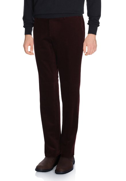 Pantalon bordeaux velours -Louisiana - egular fit