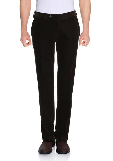 Pantalon brun en velours -Louisiana - regular fit