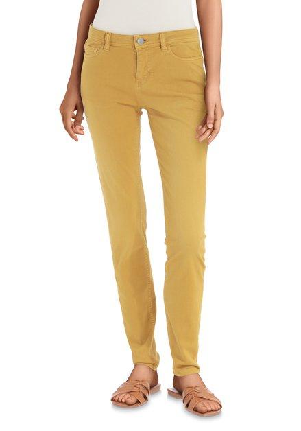 Pantalon couleur ocre - skinny fit
