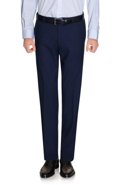 Pantalon de costume bleu marine Foxtrot