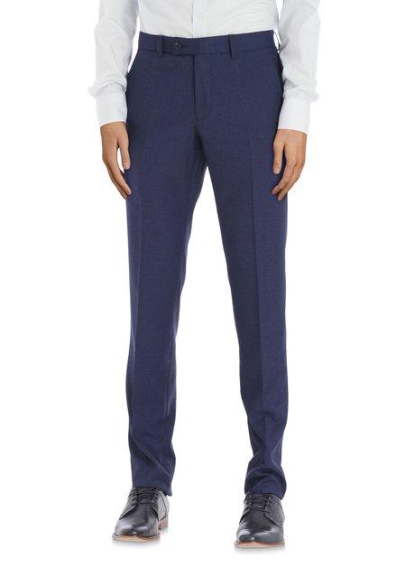 Pantalon de costume bleu marine - Kansas