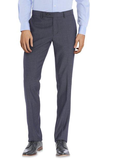 Pantalon de costume gris-bleu - Riga