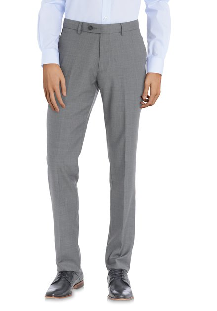 Pantalon de costume gris - Regular fit
