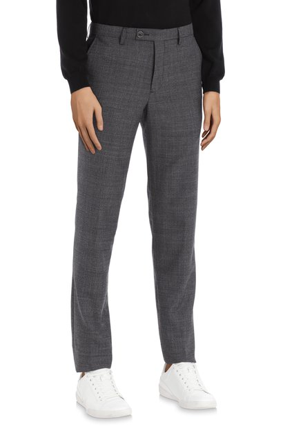 Pantalon de costume noire - Alaska – slim fit