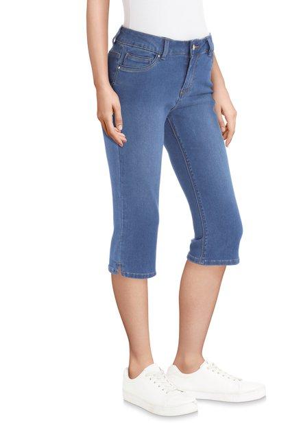 Pantalon en jean longueur genoux