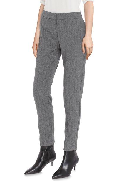 Pantalon gris à rayures – fit slim