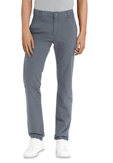 Pantalon gris-bleu – regular fit