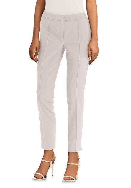 Pantalon gris clair – slim fit