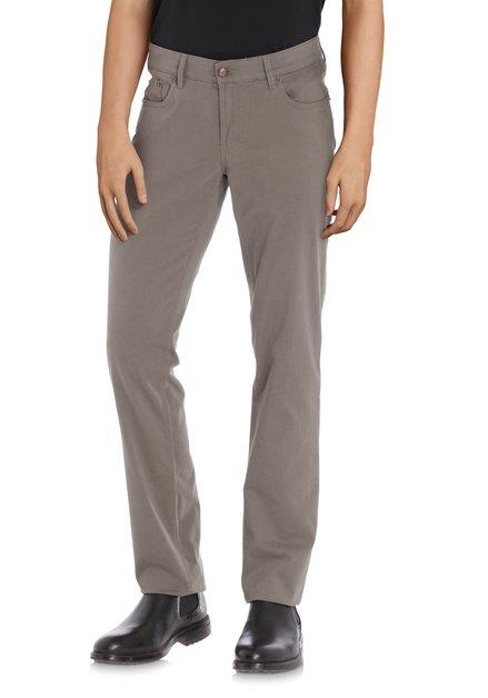 Pantalon gris clair - Jackson - regular fit