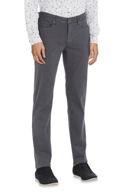Pantalon gris foncé – modern fit