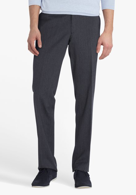 Pantalon gris foncé Louisiana - Regular fit