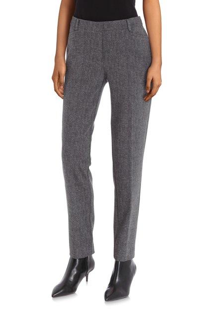 Pantalon gris moucheté - slim fit