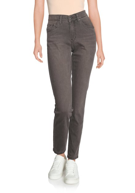 Pantalon gris - straight fit