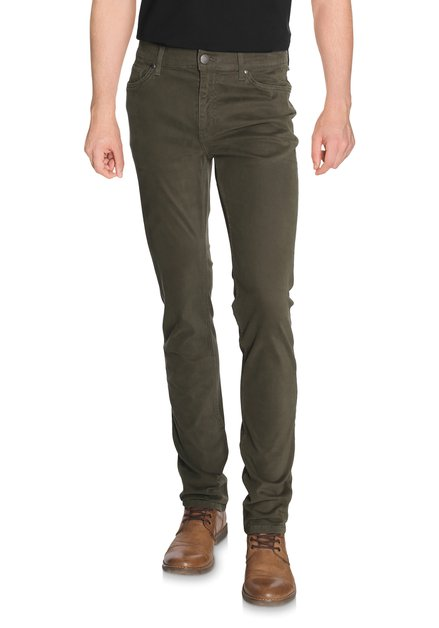 Pantalon kaki en coton stretch - Slim fit