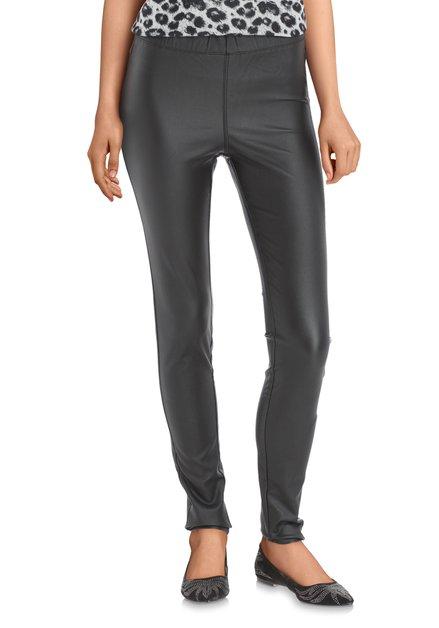 Pantalon noir avec coating