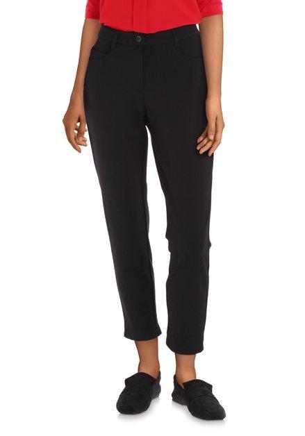 Pantalon noir en stretch – slim fit