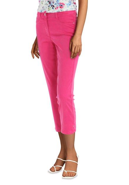Pantalon rose 3/4