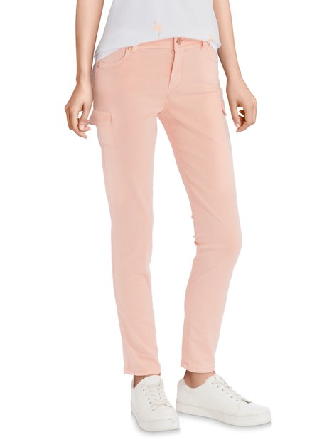 Pantalon rose clair – slim fit