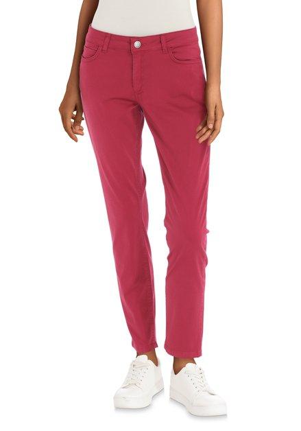 Pantalon rose foncé - slim fit
