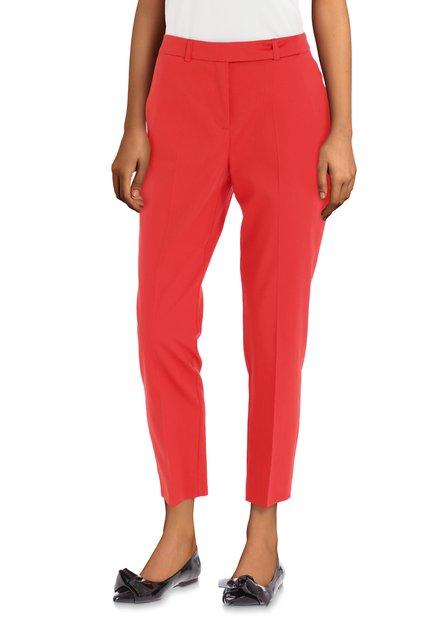 Pantalon rouge habillé