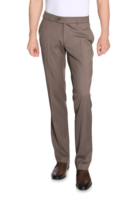 Pantalon taupe Louisiana- Regular fit