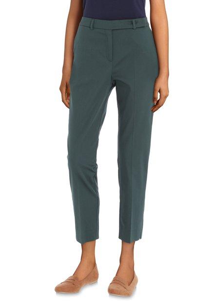 Pantalon vert foncé - slim fit