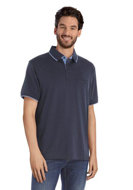 Polo bleu foncé