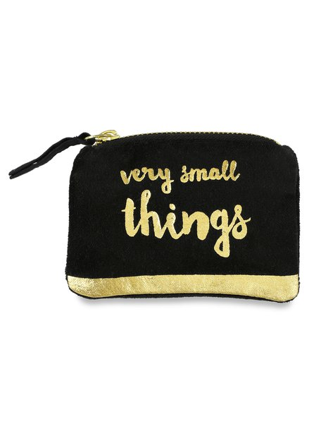 Portemonnaie noir «very small things»