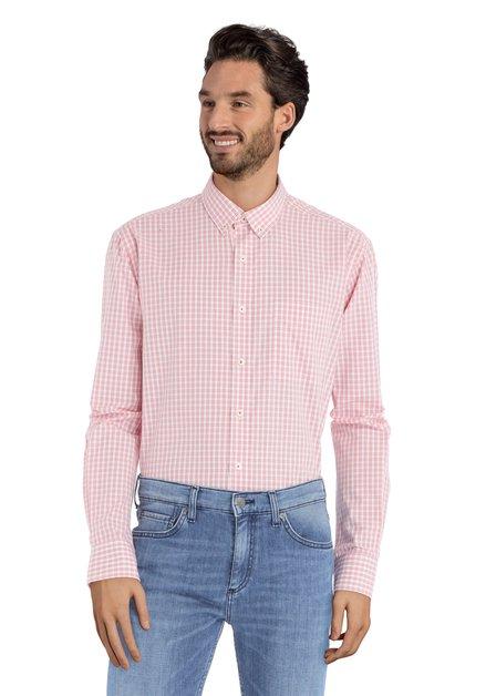 Rood geruit hemd - comfort fit