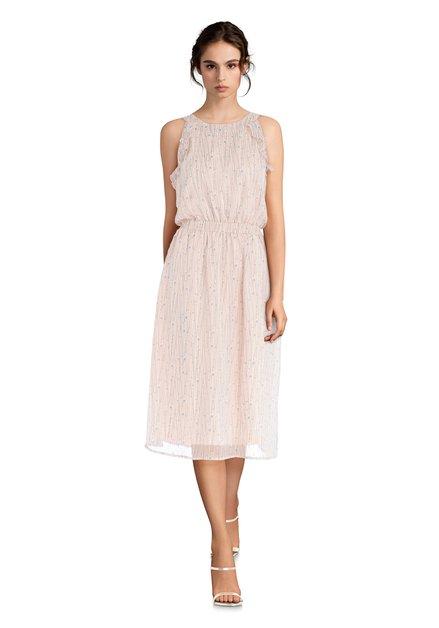 Roze jurk met glitter
