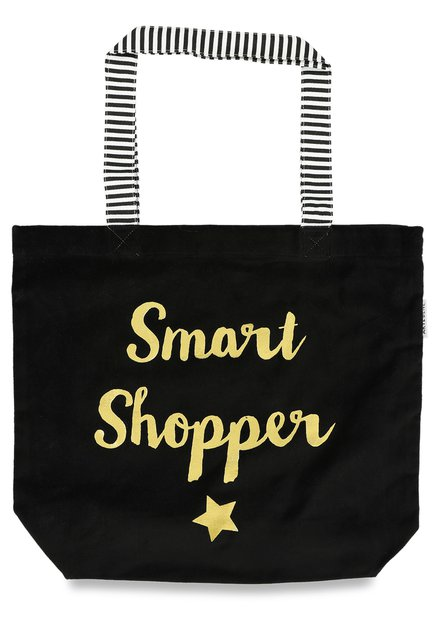 Sac noir « Smart Shopper »