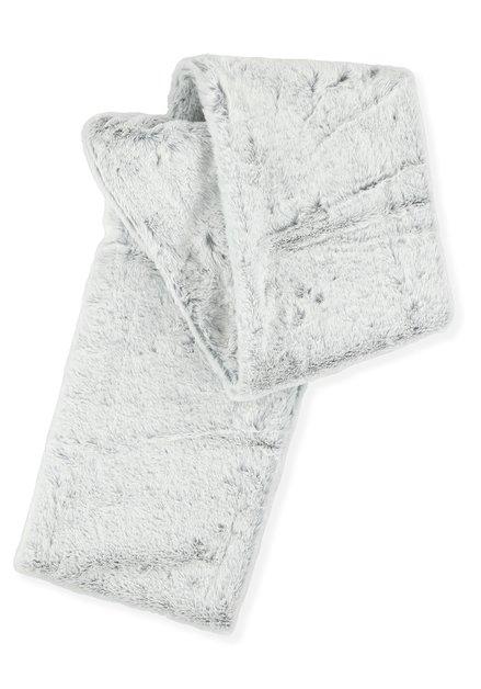Sjaal fake fur grijs
