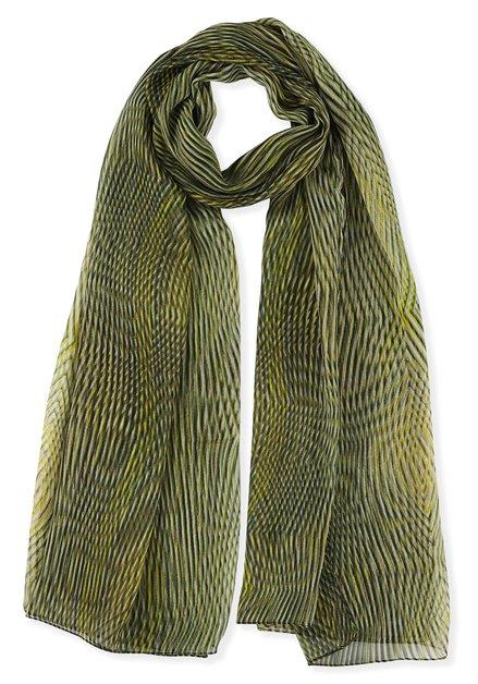 Sjaal met golvend lijnenpatroon