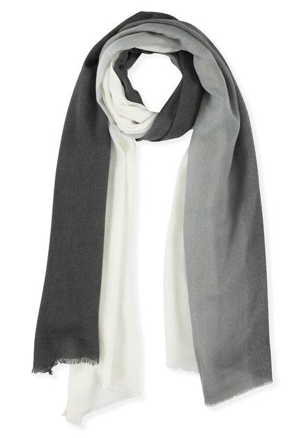 Sjaal met grijsverloop