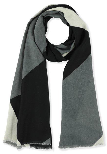 Sjaal met kleurvlakken