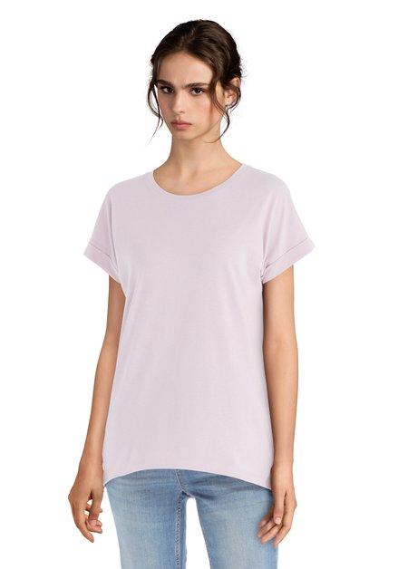 T-shirt mauve – basique