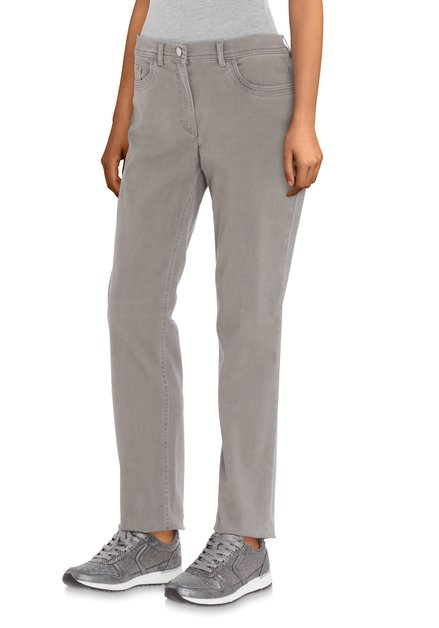 Taupe jeans - straight fit
