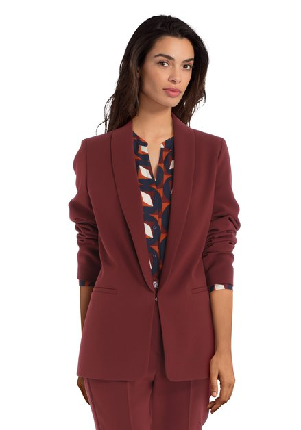 Veste de costume bordeaux