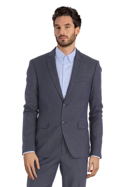 Veste de costume gris-bleu - Riga - slim fit